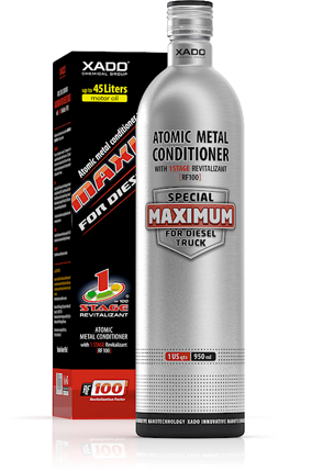 Atomic Metal Conditioner MAXIMUM For Diesel Trucks