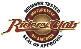 Member Tested Riders Club Seal Of Approval